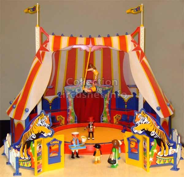 Small scale models circus record and documentation center - Cirque playmobil ...